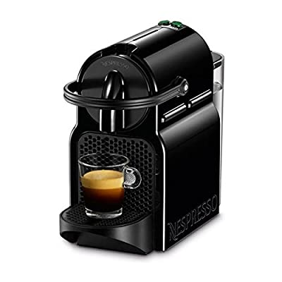 Nespresso Delonghi Inissia en Pod 80b-cafetera, 19 bar, Compact, Auto Power Off, Color Black