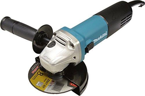 Makita 9558NBGX1 Winkelschleifer 125 mm, 840 W inklusiv 20x Trennscheiben, 230 V