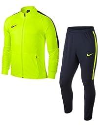 Nike Nk Dry Sqd17 Trk Suit K - Chándal, Niños,Amarillo (Volt / Obsidian / Obsidian / Obsidian), L