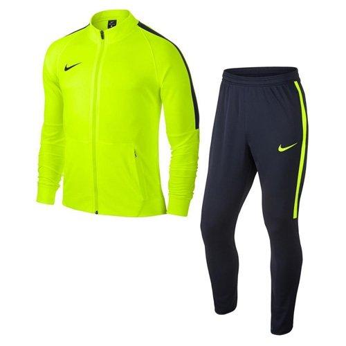 Nike Nk Dry Sqd17 Trk Suit K - Chándal, Niños,Amarillo (Volt / Obsidian / Obsidian / Obsidian), XL