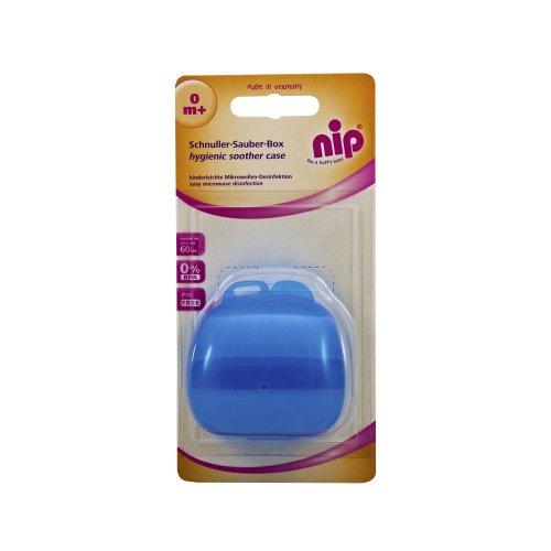 NIP Boîte à sucette « Quicky » rangement pour sucette, bleu