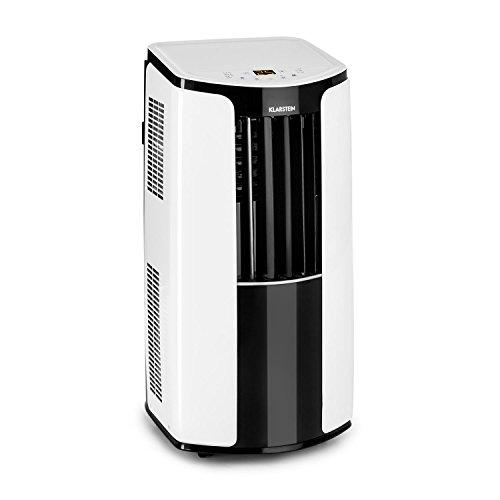 Klarstein New Breeze ECO mobile Klimaanlage Klimagerät Ventilator (energieeffizient, Luftdurchsatz von 360m³/h bei 64 dB max, 935 Watt, 10.000 BTU/h, 3 Windstärken, Fernbedienung) weiß