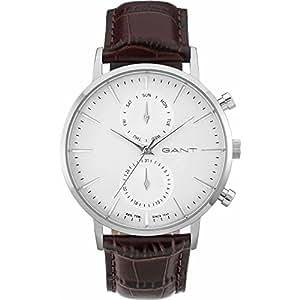 GANT TIME - W11201 - Montre Homme - Quartz - Analogique - Bracelet cuir Marron