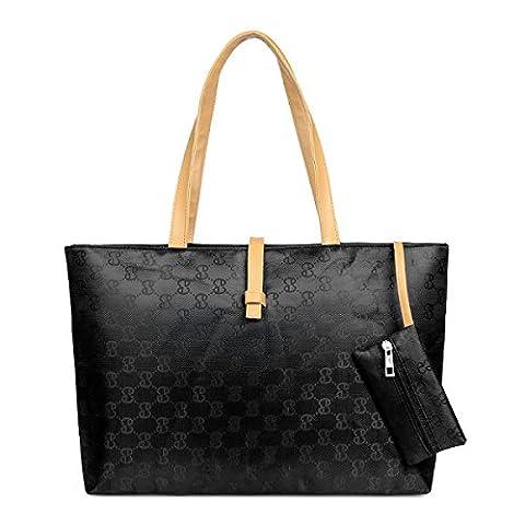 Koreanische Version Mode Gürtelschnalle Schulter Handtasche Münze Tasche Handtaschen,Black