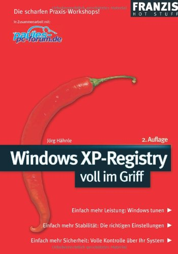 Windows XP Registry voll im Griff