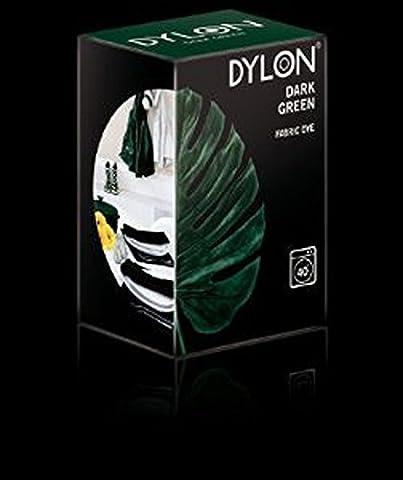 DYLON Teinture textile pour Machine à laver Vert foncé 200 g