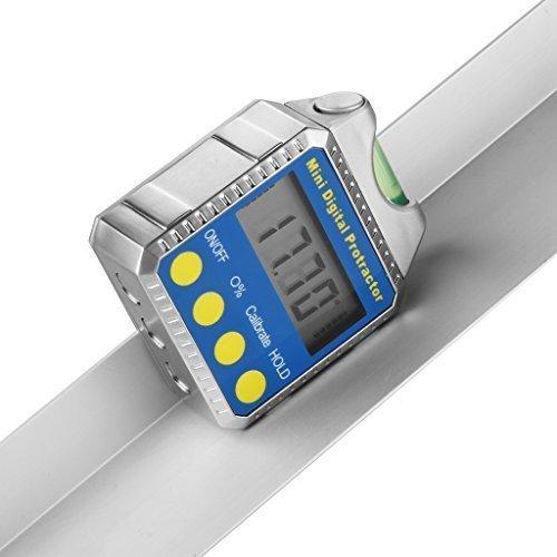 Excelvan Digitaler-Winkelmesser Neigungsmesser Wasserwaage Ideales Gerät zur Winkeleinstellung