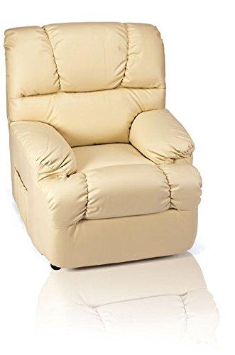 Sillon Relax Irene Fauteuil de massage électrique avec fonction lève-personne chocolat