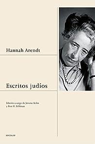 Escritos judíos par Hannah Arendt