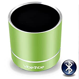 Vibe-Tribe Troll Plus - Lime Green: 12 Watt Bluetooth Vibration Speaker, vivavoce, suction base integrata