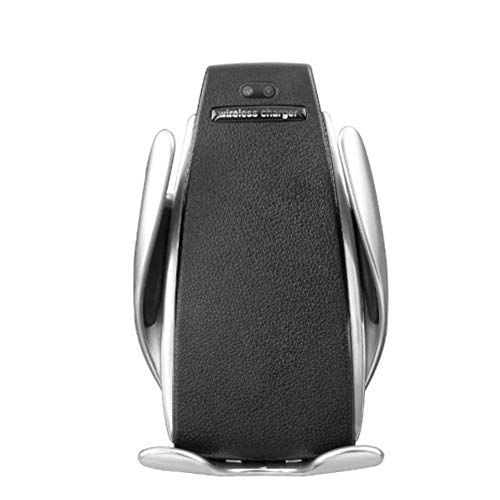 Ksruee Wireless Charger Auto Qi Handyhalterung für Auto Automatisch Motor Betrieb 10W Fast Charging mit Induktiver Ladestation für iPhone Samsung (Auto-motoren)