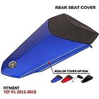 JFG RACING Motorrad Rear Seat Kutte Soziussitz Verkleidung Verkleidung F/ür Yamaha R1 2015-2018 Rot