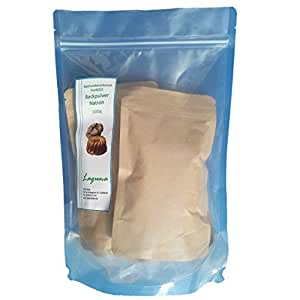 Bicarbonate de soude 1kg Bicarbonate De Sodium, 1000g fermé Sac à fond plat de Pratique En Papier Kraft, la meilleure qualité alimentaire, poudre à lever e500ii