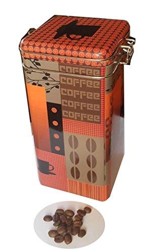 scherenkauf KAFFEEDOSE Nostalgic mit Bügelverschluss 100 x 100 x 200mm, Quadrat