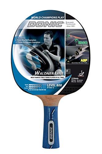 Raquette de tennis de table WALDNER 800 (intègre les technologies ABP & manche ERGO)