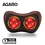 Agaro Full Body Massage Pillow with Heat for Pain Relief and Muscle Relaxation