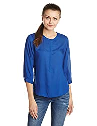Levis Womens Body Blouse Shirt (28451-0002_Blue_L)