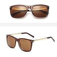 ZHANG Moda occhiali da sole alti occhiali da sole vero e proprio film di colore occhiali alla moda di guida spiaggia di viaggio da sole alpinismo, 2