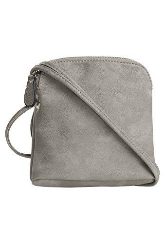 MICHÈLE BOYARD Kleine Umhänge-Tasche, Damen Damen-Tasche, Handtasche, Schultertasche, hellgrau,OneSize