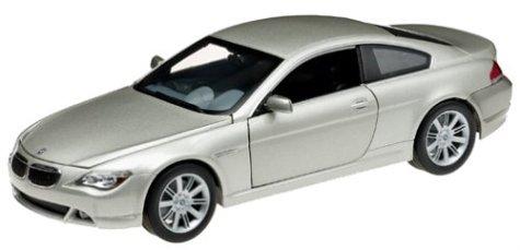 Hot Wheels B3243 - BMW Serie 6 Coupé, Platinum Edition, 1:18