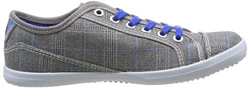 Redskins Hobbol Cadet, Jungen Sneakers Grau (gris/bleu)