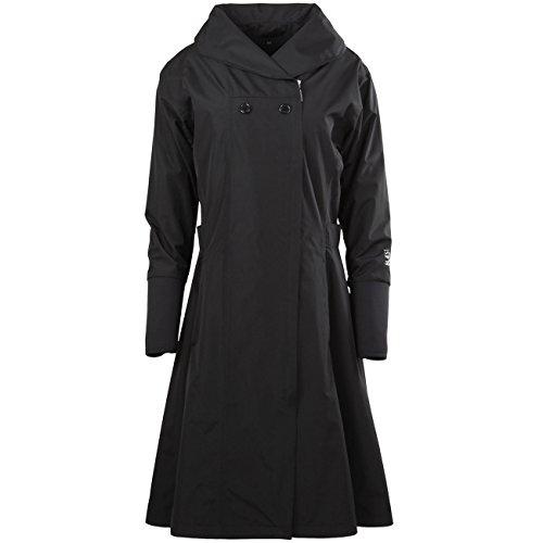 Blaest Woman Raincoat Barcelona Citycoat Black Black