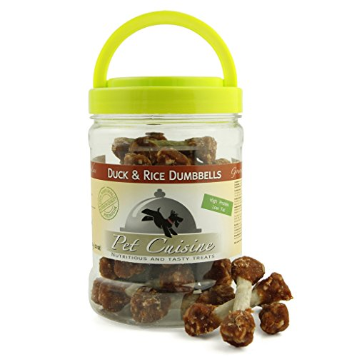 Pet-Cuisine-Premium-Dog-Treats-Puppy-Chews-Snacks-Duck-Rice-Dumbells-340g