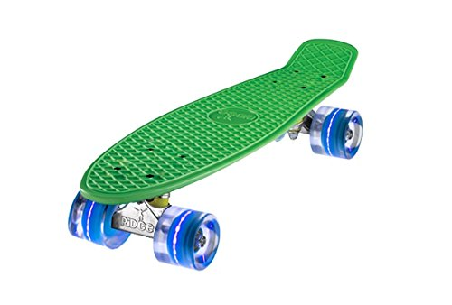 "Ridge 22"" Mini Cruiser Skateboard Mit LED Räder"