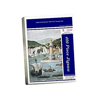 Media Storehouse 400 Piece Puzzle of Table of the Strozzi. 1472-1473. The port (8280199)