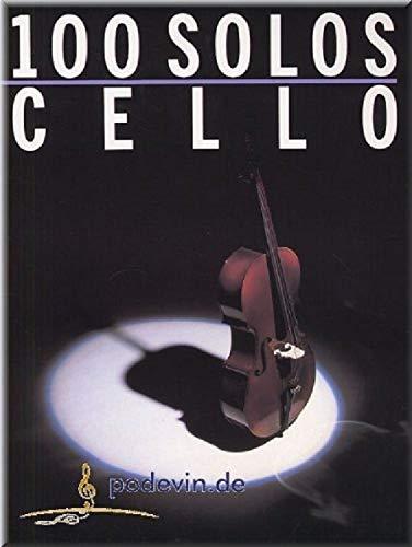 100 solos, partitions violoncelle [notes de musique] par