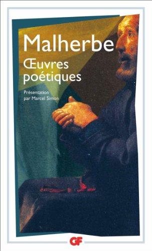 Oeuvres Poetiques por Malherbe