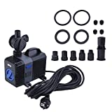 40 Watt Variable Frequenz Leistungsstarke Teich Brunnen Pumpe Aquarium Zirkulation Tauchwasserpumpe CTP-6003 EU Stecker