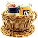 St Kew Cornish Teacup Afternoon Tea Gift Hamper - Ideal for Christmas or Birthdays