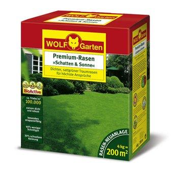 WOLF Garten Premium-Rasen Schatten und Sonne LP 200