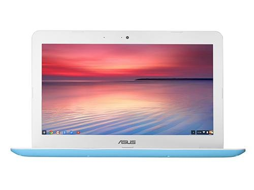 ASUS Computer ASUS Chromebook C300SA 13.3-Inch Notebook - UK Stock (Intel Celeron, 2GB RAM, 32GB eMMC, Chrome OS) (White/Blue)