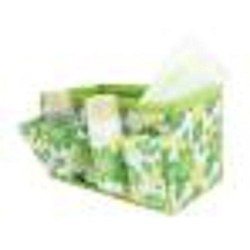 Culater® Mignon Portable Voyage Toiletry Maquillage Cosmétique Sac à main Organisateur Titulaire vert