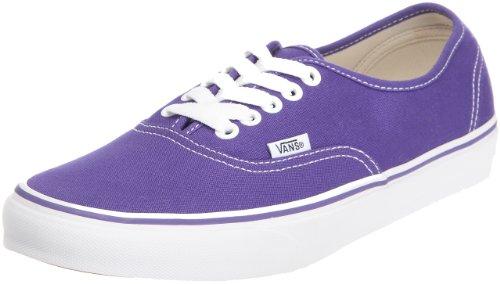 Vans U Autêntica, Unisex - Violett Erwachsene Sneaker (íris Roxa / Branco Verdadeiro))