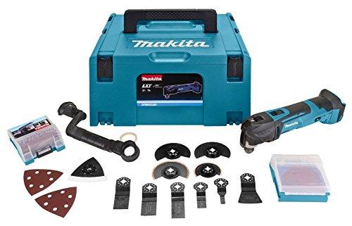 Makita dtm51zjx3MAKPAC Mehrzweckwerkzeug 18V LXT + 45Zubehör + Koffer -