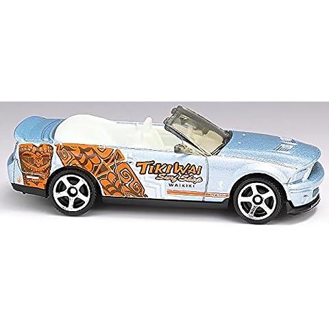 match Box Ford Shelby GT500Cabrio–Tiki wai Surf Shop–MBX Adventure City