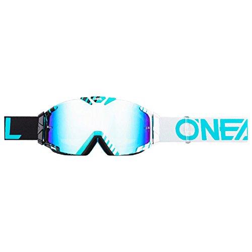 O'Neal B-30 Goggle Duplex Crossbrille Radium Motocross DH Downhill MX Anti-Fog Glas, 6032-11, Farbe schwarz