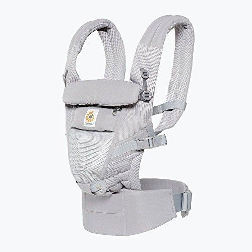 Ergobaby Adapt Cool Air-Porte-Bébés, couleur gris