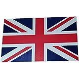Juego de diez (10) pegatinas de la bandera de Reino Unido, bandera de Reino Unido, tamaño aprox. 11x 6,5cm, pegatinas de vinilo de alta calidad para decorar etiquetas engomadas
