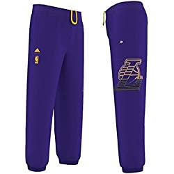adidas – Pantalon NBA Los Angeles Lakers pour Enfant Adidas violeta, 10 años