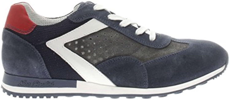 Nero Giardini P800241u Camo Colorado Osimo Jeans - Zapatillas de Piel para Hombre