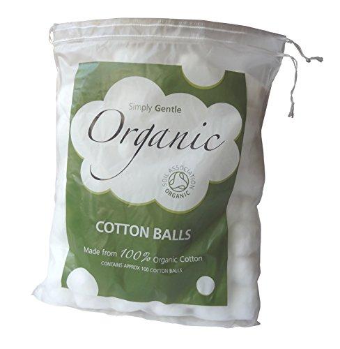 simplement doux Coton Bio – Lot de 100 balles