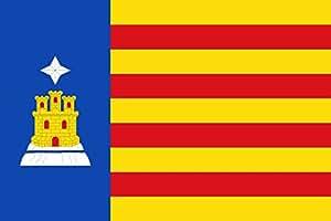 DIPLOMAT Flagge Cubel   Cubel-Zaragoza-Spain   Cubel-Zaragoza   Querformat Fahne   0.06m²   20x30cm für Flags Autofahnen