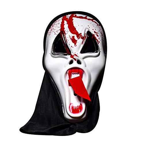 Masken Kostüm Partei - Cosanter Maske Halloween Kostüm Partei Party Maskenball Unisex Kunststoff Mask