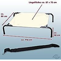 Hundebett / Hundeliege / Ruheplatz XL Beige - bis 60 kg