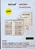 Systemplaner A7, Einlagenblätter-Satz komplett (Nr.B-2700) 2013