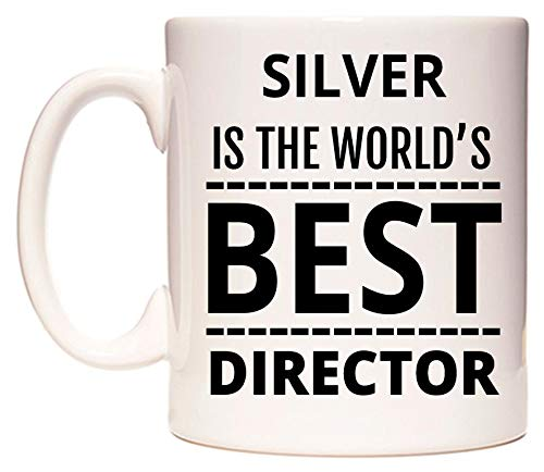 SILVER Is The World's BEST Director Becher von WeDoMugs